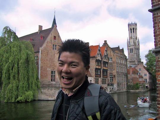 オランダにて