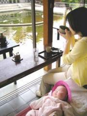 名古屋白鳥公園で(2006-04-30)