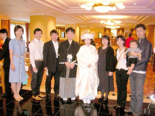友達の結婚式(2006-09-17)
