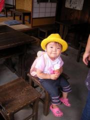 中山道馬籠宿にて(2008-08-10)