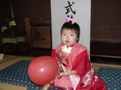 美和子の七五三、知立神社にて(2008-10-13)