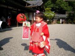 美和子の七五三(2008-10-13)