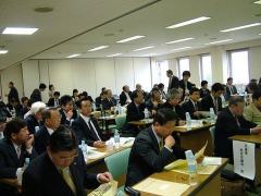 北海道/栗山町「議会基本条例」視察:全国からの視察者で超満員の会場