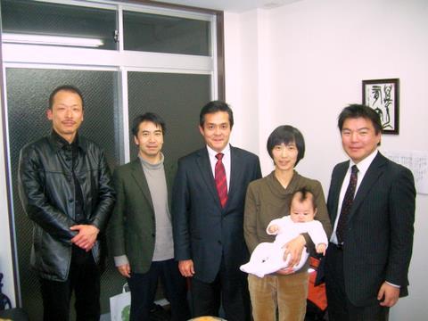 岐阜市で 浅野まこと さんとともに(2009-12-02)