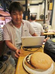 """Ridiculous Burger""(とんでもないバーガー)@ Izakaya janai"