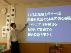 「今できることがある」堀尾英範小児科医講演。無事に成功