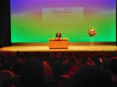 家庭倫理講演会・神谷学・安城市長の挨拶