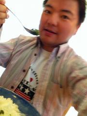 お昼を伊藤久右衛門の宇治抹茶カレーにしてみた。