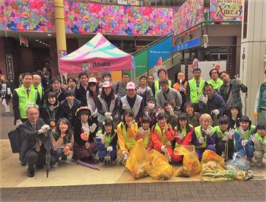 お掃除アイドルユニット名古屋CLEAR'Sとともに Let's エコアクション in AICHI