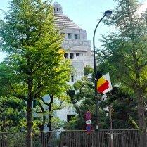 国会議事堂もベルギー国旗