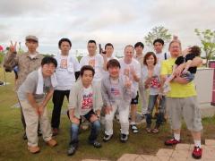 名古屋ウォーカソンで Children First ブースを手伝った仲間です。