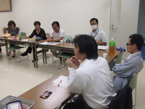 新生あんき会についての打ち合わせの様子(2009-09-28)