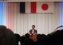 大村秀章愛知県知事 挨拶 名古屋パリ祭
